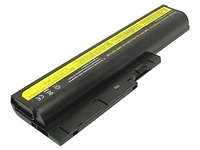 IBM/Lenovo ThinkPad T60 Series Hi-Capacity Battery (10.8V, 6600mAh, 9 Cells)