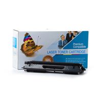 Brother TN115BK Compatible Black Laser Toner Cartridge