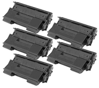 Brother TN1700 Set of Five Compatible Toner Cartridges Value Bundle
