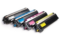 Compatible Brother TN210 Toner Cartridge Bundle (C,K,M,Y)