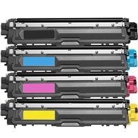 Brother TN221 / TN225 Compatible Toner Cartridge Value Bundle