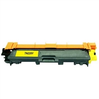 Brother TN225Y Compatible Yellow Toner Cartridge High Yield