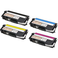 Brother TN315 Compatible Toner Cartridge Value Bundle (C,K,M,Y)