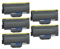 Set of Five Compatible Jumbo Brother TN360 Toner Cartridges (100% More Yield!) Black Toner Cartridges ($21.9/ea, Save $10)