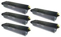 Brother TN580 High Yield Compatible Toner Cartridge 5-Pack