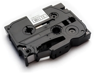 "Brother Compatible TZe131 Black on Clear P-Touch Label Tape 1/2"" x 26'"