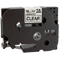 Brother TZe141 Compatible Black On Clear P-Touch Label Tape