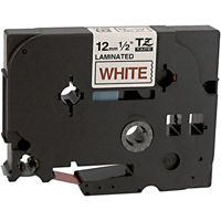 Brother TZe232 Compatible Red On White P-Touch Label Tape
