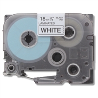"Brother TZe241 Compatible Black On White P-Touch Label Tape 3/4"" x 26'"