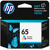 Genuine HP N9K01AN (HP 65) Tri-Color Ink Cartridge - OEM