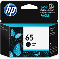 Genuine HP N9K02AN (HP 65) Black Ink Cartridge - OEM