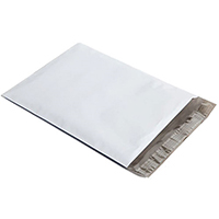 "#5 - Flat Poly Mailers 12"" X 15.5"" - Pack Of 100"