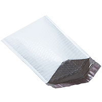 "#000 - Poly Bubble Mailers 4"" x 7"" - Case Of 500"