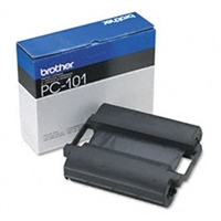 Brother PC101 OEM Black Thermal Thansfer Cartridge
