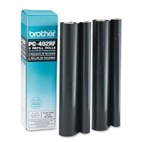 Genuine Brother PC402RF Thermal Transfer Refill Rolls 2-pack - OEM