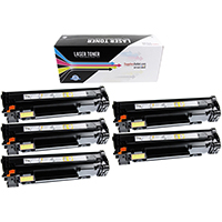 HP Compatible CE285A Toner Cartridge Value Bundle