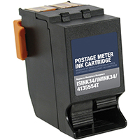 Neopost ISINK34 Remanufactured Red Ink Cartridge