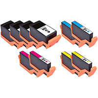 HP 902XL Remanufactured High Yield Ink Cartridge 10-Pack