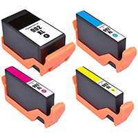 HP 902XL Remanufactured High Yield Ink Cartridge 4-Pack