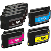 HP 952XL Remanufactured High Yield Ink Cartridge 10-Pack
