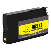 HP L0S67AN (HP 952XL) Remanufactured High Yield Yellow Ink Cartridge