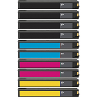 HP 972A Remanufactured Ink Cartridge 10-Pack