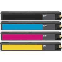 HP 972A Remanufactured Ink Cartridge 4-Pack