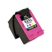 HP C2P07AN (HP 62XL) Remanufactured High Yield Tri-Color Ink Cartridge