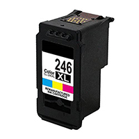 Canon CL-246XL Remanufactured High Yield Color Ink Cartridge