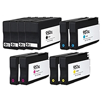 HP 950XL & 951XL Remanufactured Ink Cartridge 10-Pack Value Bundle