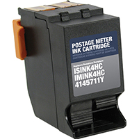 Neopost INK4HC Remanufactured Red Ink Cartridge