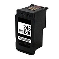 Canon PG-245XL Remanufactured High Yield Pigment Black Ink Cartridge