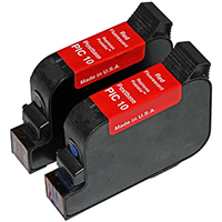 Francotyp-Postalia PIC10 Remanufactured Red Ink Cartridge 2-pack