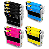 Epson T288XL Remanufactured High Yield Ink Cartridge 10-Pack
