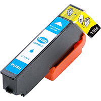 Epson T410XL220 Remanufactured High Yield Cyan Ink Cartridge