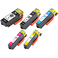 Epson T410XL Remanufactured High Yield Ink Cartridge 5-Pack