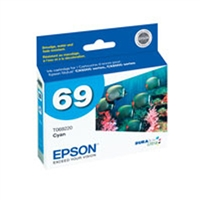 Epson T069220 OEM Cyan Ink Cartridge