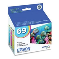 Epson T069520 OEM 3 Color Inkjet Cartridge Multipack