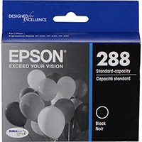 Genuine Epson T288120 Black Ink Cartridge - OEM