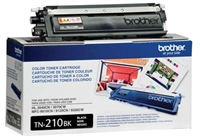 Brother TN210BK OEM Black Toner Cartridge