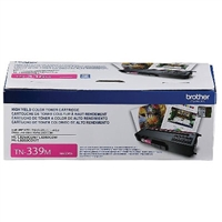 Genuine Brother TN339M Extra High Yield Magenta Toner Cartridge - OEM