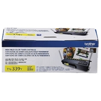 Genuine Brother TN339Y Extra High Yield Yellow Toner Cartridge - OEM