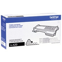Brother OEM TN-420 Black Laser Toner Cartridge 1,200 PG Yield
