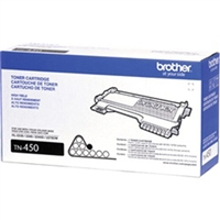 Brother OEM TN-450 Black Laser Toner Cartridge 2,600 Page Yield