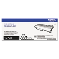 Brother TN720 OEM Black Laser Toner Cartridge