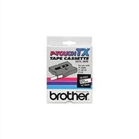 "Brother TX2211 OEM Black On White P-Touch Label Tape 3/8"" x 50'"