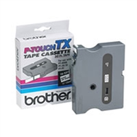 "Brother TX2311 OEM Black On White P-Touch Label Tape 1/2x"" x 50'"
