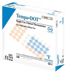 TempaDOT Single Use Clinical Thermometers - Sterile, Individually Wrapped (100/box)