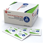 Alcohol Prep Pad, Medium (200 per box) (20 boxes per case)