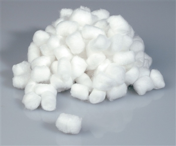Cotton Balls; Medium Non-Sterile - (4000/case)